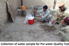Water quality test